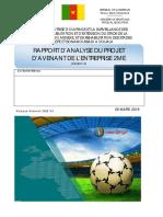 Rapport d'Analyse Du Projet d'Avenant de l'Entreprise 2me-Rv1a Ok