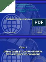 Chapitre 1 Economie , Section 4