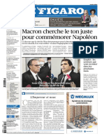 Le Figaro du Mercredi 5 Mai 2021