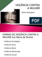 Violencia a Maulher Dia 24