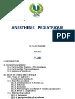 Anest Pediatrique. b. Haddad