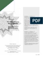 Papavero Teixeira 2001, Viajantes e Biogeografia
