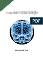 Técnicas De Memorização - Curso Rápido - 7 Páginas - Português