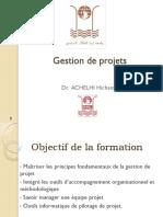 Formation Gestion de Projet ACHELHI