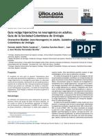 2016. Guía vejiga hiperactiva no neurogénica en adultos. Guía de la Sociedad Colombiana de Urología. Urol. Colomb