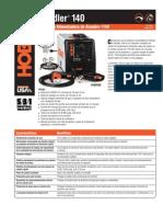 Spec Sheet - Handler 140 Spanish