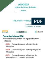 SQL Oracle - Visão Geral