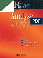 Livre H-prepa Analyse 2eme Annee ( Math.faculté )