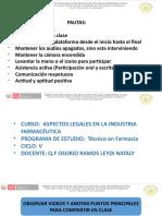 9 CLASE Elaboración de expediente OF  ASPECTOS LEGALES EN LA INDUSTRIA FARMACEUTICA -5 CICLO