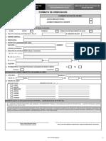 Formato de Comunicación de Asume de Nueva Dirección Técnica y Asistencia Técnica