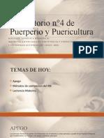 clase 4 Puerperio, Online