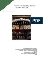 Fuentes de Información Especializada sobre cine (Ed. 2009)