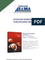Catalogo Publicaciones RBC