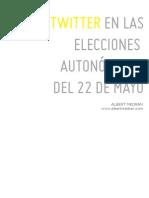 Twitter en las elecciones autonómicas del 22 de mayo