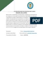 SEMILLERO MULTIDISCIPLINARIO DE INVESTIGACION