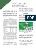 Artigo - Geração e Distribuição de Energia Elétrica