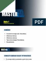 Módulos 1 Projetista Master - Aula 1
