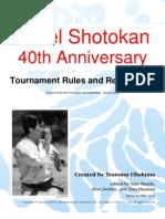 Israel Shotokan Tournament Rules