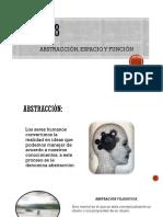ABSTRACCION, ESPACIO Y FUCION