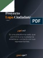 Proyecto Lupa Ciudadana (v. Beta 2)