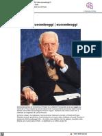 Il premio Succedeoggi ad Alberto Fraccacreta - Succedeoggi.it, 18 giugno 2021