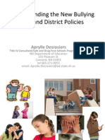 Understanding NH Bullying Law and District Policies 2011