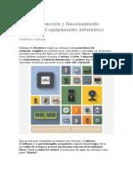 Tema 1 - Conexión y funcionamiento operativo del equipamiento informático UF0512