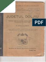 Judetul Doljiu Manual 1896