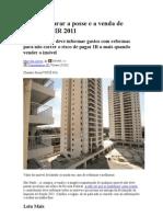 Como declarar a posse e a venda de imóveis no IR 2011