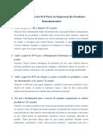 Avaliação PCP