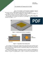 Résultats de La Simulation_HFSS_2020