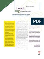 Adobe Acrobat and the FDA