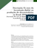 EDICAO DOCUMENTARIOS