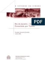 RJ - Uma cidade conectada por tuneis