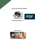 Guía básica de teatro para jóvenes