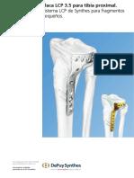 placa anatomica proximal para tibia 3.5