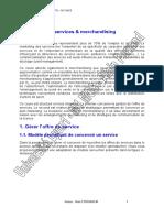 Marketing Services Merchandising