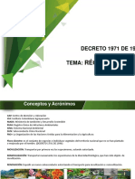 Presntaciones UIS - DECRETO 1971 DE 1996