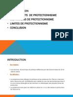 Séance 7 Le protectionnisme