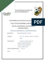 ADMINISTRACION DE LA CALIDAD ... EJERCICIOS DE  AANALISIS SENSORIAL