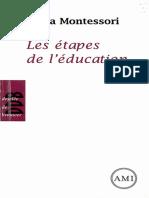 Les étapes de l'éducation by Montessori, Maria (z-lib.org)