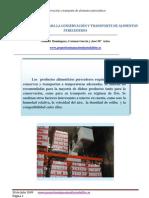 RECOMENDACIONES PARA LA CONSERVACIÓN Y TRANSPORTE DE ALIMENTOS PERECEDEROS