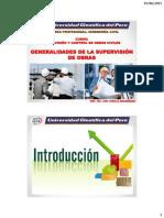 Generalidades de La Supervisión de Obras