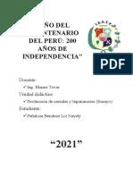 La Fertilizacion Del Arroz- Peñaloza Bendezu Liz- Producción Agropecuaria-I Semestre