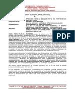 Impulso Procesal Teofilo Medina Diciembre 2020