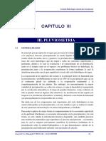 Capitulo III - Pluviometria
