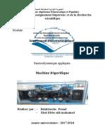 tp3 machine frigorifique