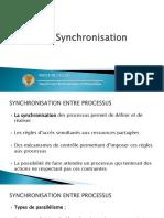 La Synchronisation
