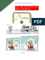 Apostila fisica I sobre Estática do Ponto