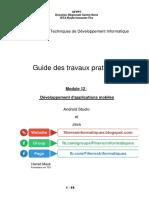 ArchivetempGuide Des Cours Et TPs - Module 12 - Développement D_applications Mobiles - Fevrier 2018